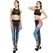 High Waist Sporting Leggings Women Sexy Hip Push Up Pants Print Slim Fitness Gym Exercise Legging Pants Jeggings Leggings