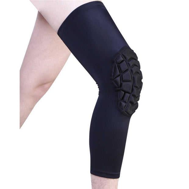 Honeycomb Elastic Kneepad Protective Gear Support Patella Foam Brace Mountaineering Ball Game Sports Safety Training#291472