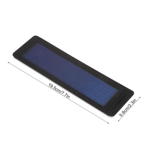 Hot 2V 0.5W Flexible Solar Panel Supply Power Bank Cell Peel Stick Battery Charger DIY Board Outdoor Tools