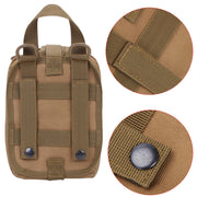 Hot Outdoor Utility Tactical Pouch Medical First Aid Kit Patch Bag Molle Medical Cover Hunting Emergency Survival Package
