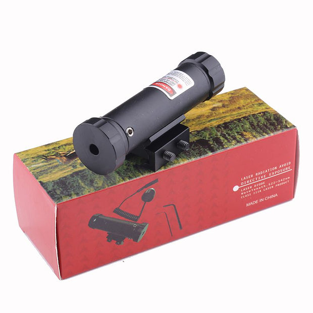Hunting Scopes Fit 11mm/20mm Rail With Mount & 2 Switch For Gun Rifle Red Dot Laser Sight Riflescope Scope Airsoft Air Guns