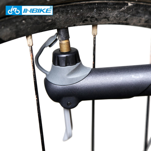 INBIKE Portable Bicycle Pump Mini Hand Pump Cycling Air Pump Ball Toy Tire Inflator Schrader Presta Valve MTB Mountain Bike Pump