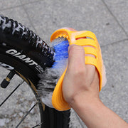 ISHOWTIENDA BIKIGHT 6 Bicycle / Cycle Bike Cleaning Tool Kit Chain Wheel Brushes Set Durable Bike Outdoor Cycling Bicycle #30
