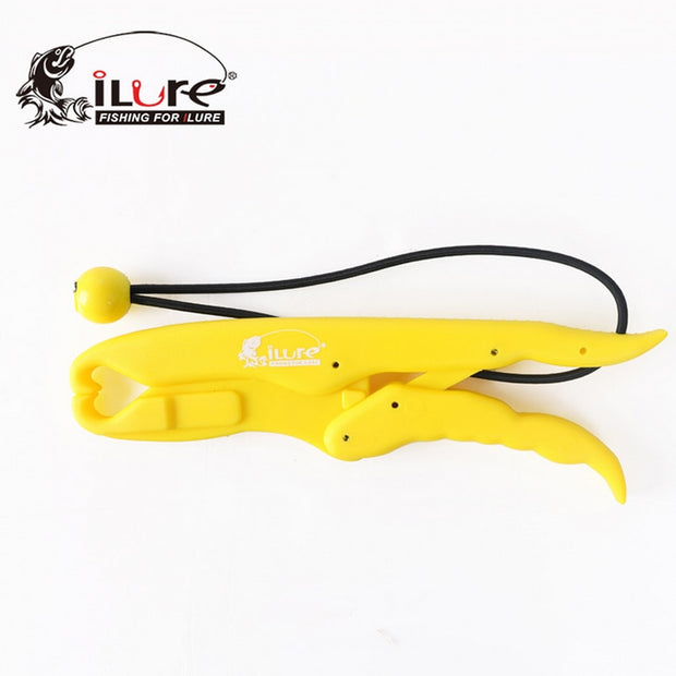 Ilure 25cm*6cm 125g Fish Grip ABS Plastic Red/Yellow Mini Fishing Grip Pesca Tackle Fishing Accessories Fishing Tackle
