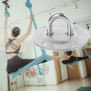 Indoor Exercise Hammock Anchor Steel Fix Buckles Hanging Plate Strength Training