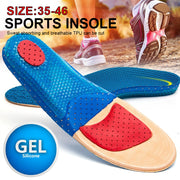 Insole Comfortable 1pair Shoes Insoles Silica Gel Insole Scalable Silica Gel Orthotic Insole Healthy