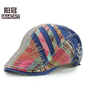 JAMONT Fashion Casual Embroidered Cotton Material Peaked Cap Unisex Baseball Cap