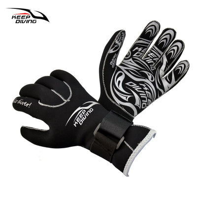 KEEP DIVING 3MM Neoprene Scuba Dive Gloves Snorkeling Equipment Anti Scratch Keep Warm Diving Equipment