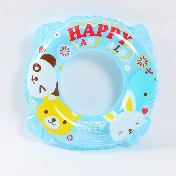 Kids Inflatable Swimming Rings Children's Pool Float Print Strawberry Swim Rings Pool Tube Toys Kids Buoy Swimming Summer Fun