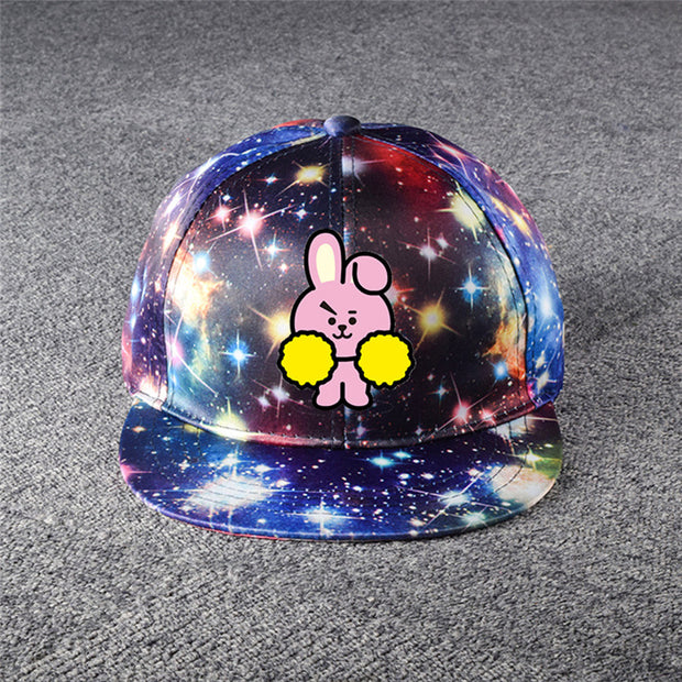 Kpop GOT7 Snapback TWICE EXO Wanna One Starry Sky Lady Cotton Baseball Cap Stitching Adjustable#291824
