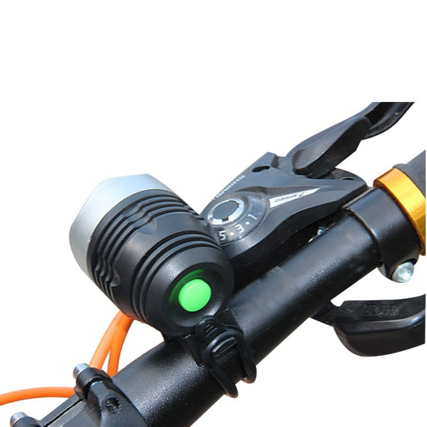 LED Front Bike Light Flashing Bicycle Headlight 3 Mode Use Battery Safety Flashlight MTB Cycling Light Biciclet Bike Accessories