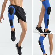 Leg Knee Long Sleeve Protector Gear Crashproof Breathable Knee Support Brace Pad Basketball Football Sports Kneepad Safety