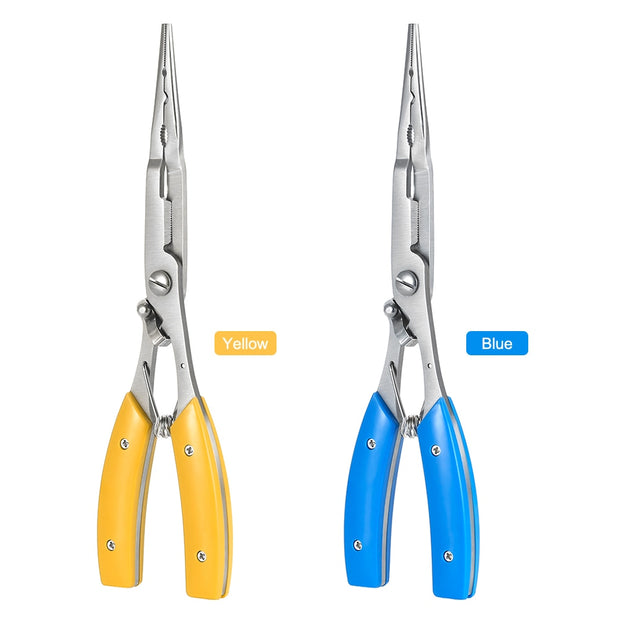 Lixada Multifunctional Fishing Plier Stainless Steel Carp Fishing Accessories Fishing Tackle Cut Line Cutter Scissors