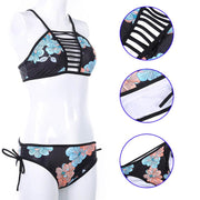 Low Waist Bikini Set Sexy Padded Swimsuit Women Sport Bikini Summer Swimwear Female Beach Bathing Suit Swimming Wear
