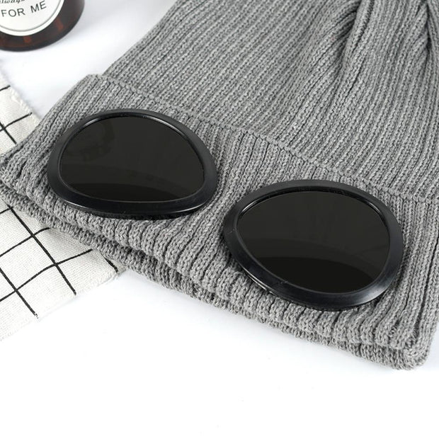 LumiParty Unisex Cycling Cap Autumn Winter Warm Wool Cap For Cycling Equipment MTB