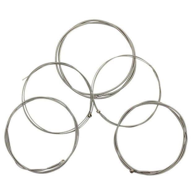 MMFC-IRIN 5pcs/set Electric Bass String G-D-A-E-B Set Steel+Nickel Alloy B102 For Electric Bass Parts Accessories Replacement