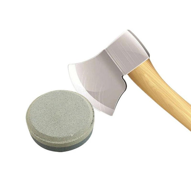 MUMIAN 1pc Household Knife Whetstone Ax Round Whetstone Double Hand Tool Grit For Kitchen Accessories Tool