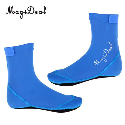 MagiDeal Unisex Adult Kids Water Sports Beach Socks Scuba Diving Surf Shoes Beach Soccer Volleyball Sports Boots For Women