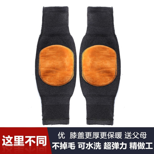 Manufacturers Selling Thick Warm Wool Cashmere Kneepad Warm Autumn Winter And Thickened Knee Extension Knee Wool Pads
