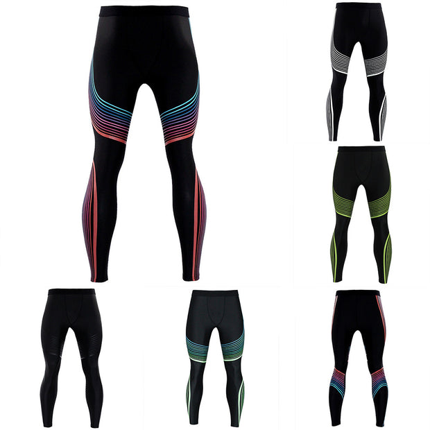 Men's Printed Trousers Leggings Fitness Sports Gym Running Yoga Fitness 3D New 2019 #40