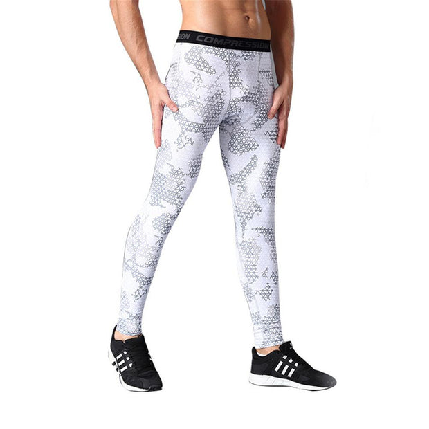 Mens Compression Tights Sports Running Pants Base Layer Gear Tight Wear Fitness Pants Leggings Fitness Basketball Tight Wear