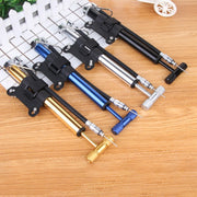 Mini Bicycle Pump With Pressure Gauge 120 PSI Hand Cycling Pump Presta And Schrader Ball Road MTB Tire Bike Pump