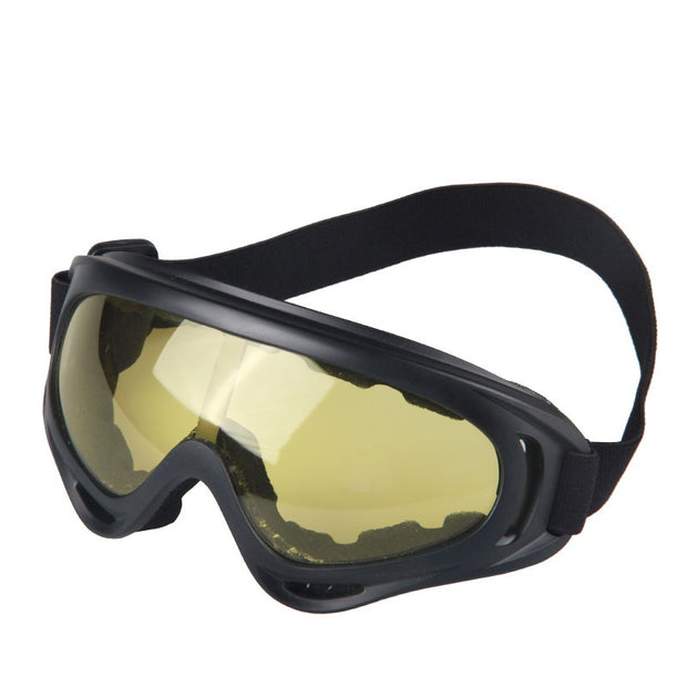 Motorcycle Goggles Tactical Glasses Cycling Glasses Eyewear Cycling Skiing Outdoor Sports Equipment 5 Color Glasses