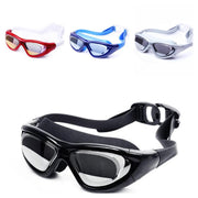 Mounchain Unisex Electroplated Goggles HD Waterproof Fog-proof Diving Swimming Glasses