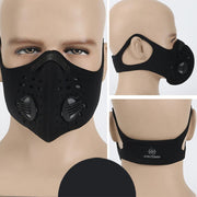 Mounchain Unisex Cycling Face Mask Activated Carbon Dust - Proof Sports Healthy Mask Riding Sports Mask