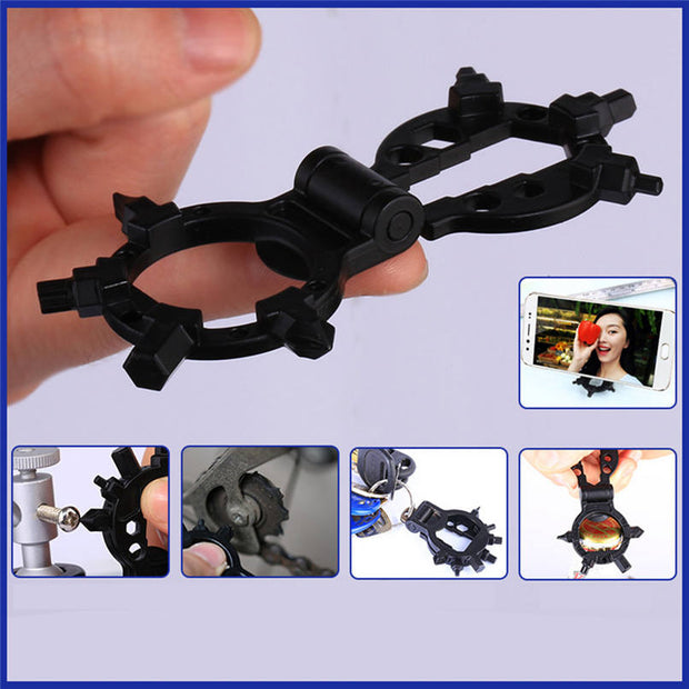 Multifunction Tools Outdoor Portable Multi-Function Gadget Octopus Bicycle Repair Tool Octopus 15 Functional Uses #2d13