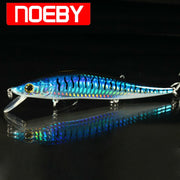 NOEBY NBL9041 Pike Fishing Lures 125mm 23g Pencil Floating0-2m Leurres De Peche Dure Hard Bait Isca De Pesca Artificial Wlure