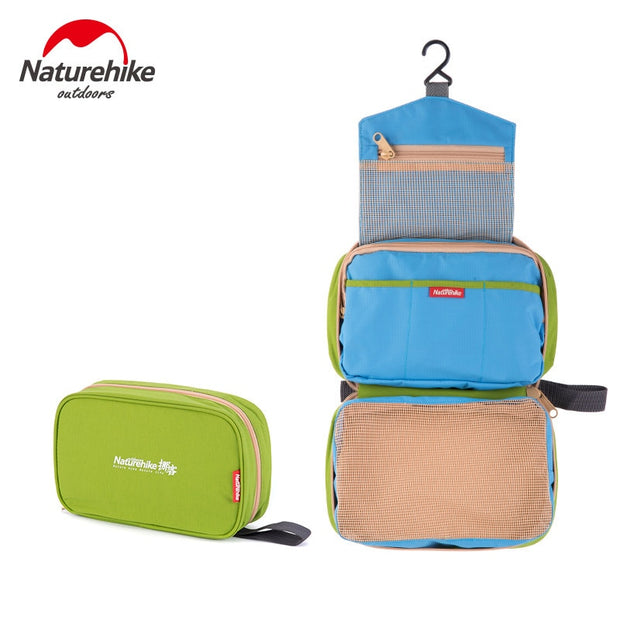 Naturehike Travel Storage Outdoor Zipper Bags Multi-purpose Men Women Sundries Sorting Packages Travel Pouches Organizer Pouch