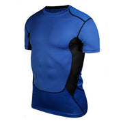 New Arrival Men Compression Under Base Layer Top Tight Short Sleeve T-Shirt Sport Collection S-XXL
