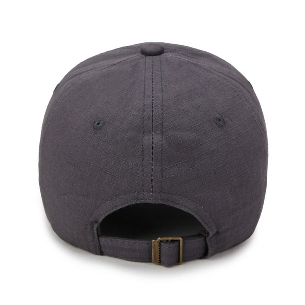 New Arrival Spring And Summer Men's Baseball Caps Outdoor Casual Sun Hat Business Middle-aged Cotton Check Hat Wholesale.
