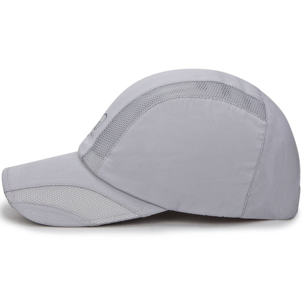 New Arrival Summer Mesh Fast Dry Hat Woman And Men Outdoor Sun Hat Hiking Sun Hat Wholesale.
