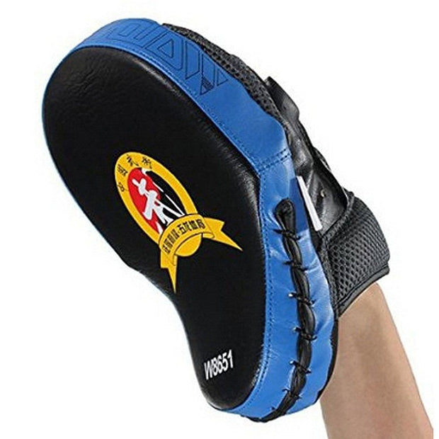 New Hand Target MMA Focus Punch Pad Boxing Training Gloves Mitts Karate Muay Thai Kick Fighting Yellow Boxing Pads Kick Training