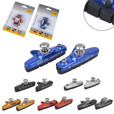 New Product Mi.xim Mountain Bikes V Brake Mats Folding Bicycles Aluminum Frame Brake Pads Braking Paper