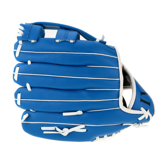 "New Sale 10.5""/11.5""/12.5 ""Soft Ball Baseball Glove Outdoor Team Sport Left Hand Blue"