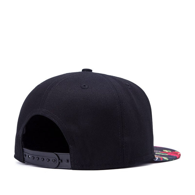 New Unique Design Women Men Baseball Cap Bone Printing Pattern Caps Cotton Popular Boys Girls Male Street Art Hats Snapback
