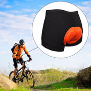 OUTAD Unisex Black Bicycle Cycling Comfortable Underwear Sponge Gel 3D Padded Bike Short Pants Cycling Shorts Size S-XXL