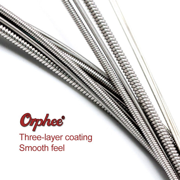 Orphee Professional Guitar Strings Antirust Layer Protection Hexagonal Carbon Steel Accessories Super SE2X /SE3X /SE4X