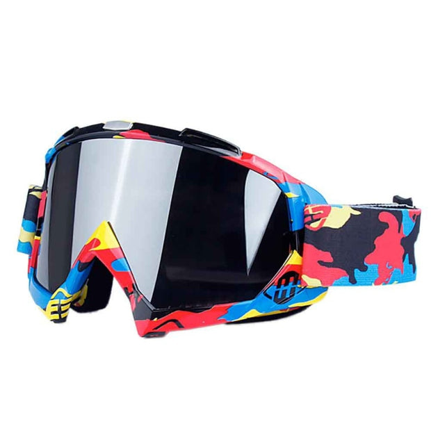 Outdoor Cycling Ski Goggles Double Layers Anti-fog Big Ski Mask Glasses Skiing Shavings Motorcycle Goggles Ski Glasses