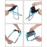 Outdoor Foldable Fishing Chair Ultra Light Portable Folding Backpack Camping Oxford Cloth Picnic Fishing Chair With Bag 2018