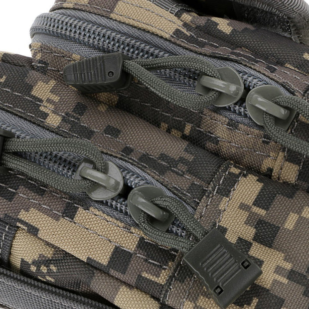 Outdoor Hiking Sports Tactical Camouflage X-2 Purse Molle Accessories Bag Multi-Pocket Wear Belt Nylon Waist Bag Pouch