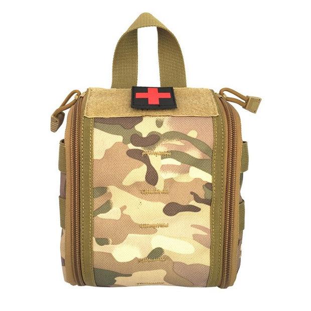 Outdoor Hunting Tactical Molle EDC Emergency First Aid Kit Pouch Utility Belt Medical Kit Survival Gear Bags