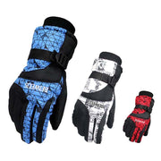 Outdoor Mountain Skiing Snowmobile Waterproof Glove Wear Resistant Riding Ski Gloves Snow Motorcycle Windproof Gloves