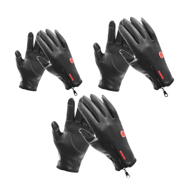 Outdoor Sports Cycling Gloves Full Finger Sport Windproof MTB Bike Touch Screen Gloves Men Women Bicycle Warm Gloves