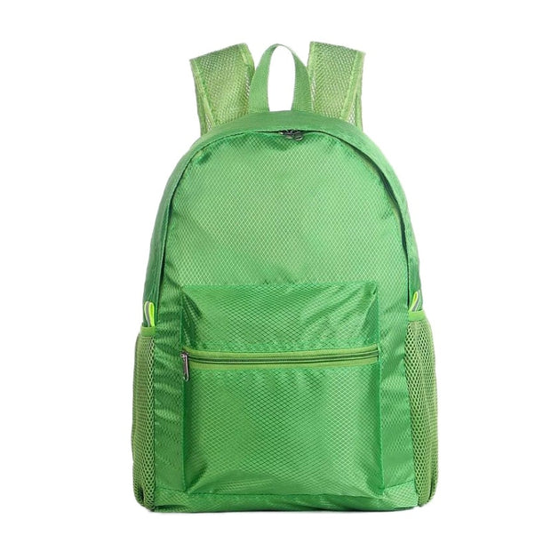 Outdoor Travel Nylon Outdoor Mountaineering Bag Waterproof Large Capacity Lightweight Folding Wear-resistant Backpack