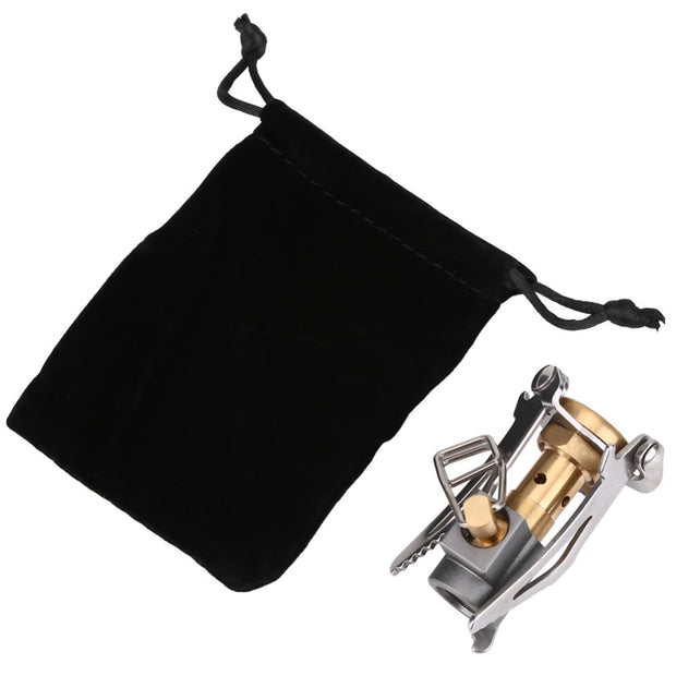 Portable Folding Mini Camping Hiking Oven Gas Stove Survival Furnace Stove 3000W Pocket Picnic Cooking Gas Cooker