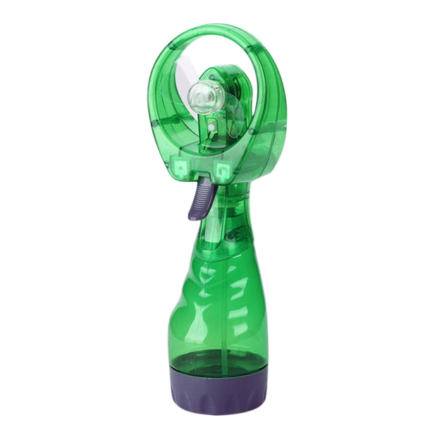 Portable Handhold Water Mist Fan Multifunction Powerful Mini Outdoor Water Cooling Spray Humidifier ASD88